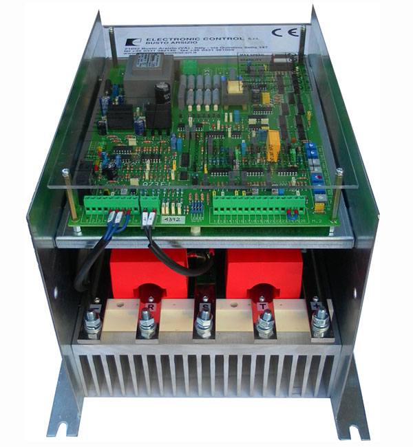 Schema Elettrico Regolatore Di Tensione Velocità Motore Elettrico Corrente Continua : Azionamenti trifase convertitore regolatore statico motori in